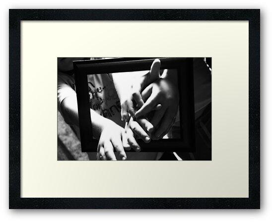 They were framed by Deidre Cripwell