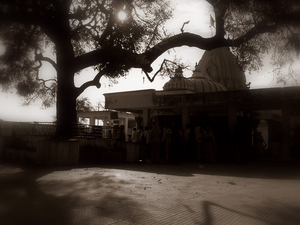 The temple by nisheedhi