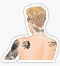 Bieber Drawing  Sticker