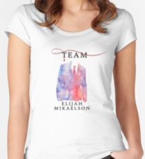 Team Elijah Mikaelson - The Originals  - The Vampire Diaries Women's Fitted Scoop T-Shirt