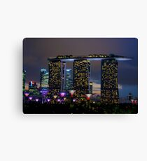 Gardens by the Bay Singapore Canvas Print