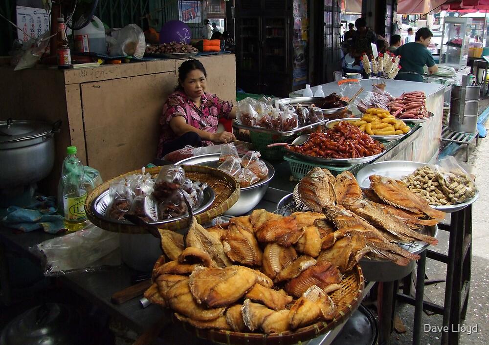 Market - Dried Fish by Dave Lloyd