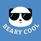 Beary Cool Panda by cartoonbeing