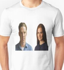 Benedict Cumberbatch and Louise Brealey T-Shirt