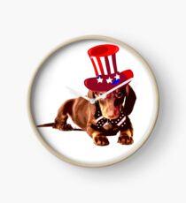 Dachshund Dog Lover Gift Clock