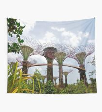 Gardens by the Bay Supertrees Wall Tapestry