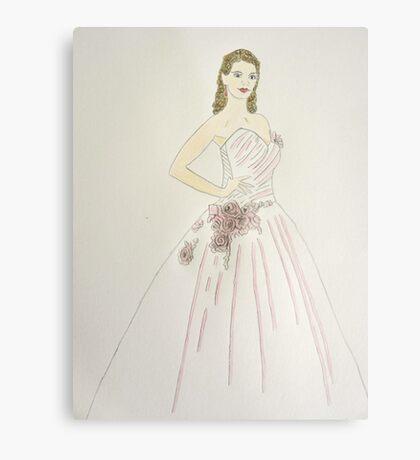 Wedding Dress No 6 Metal Print