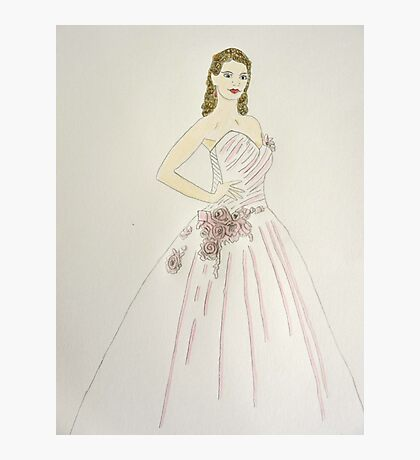 Wedding Dress No 6 Photographic Print