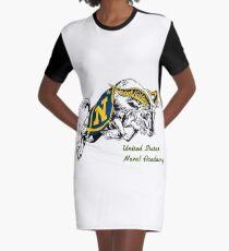 THE USNA Rampaging Goat! Graphic T-Shirt Dress