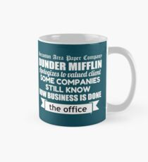 The Office - Michael Scott - Newspaper Headline Quote Mug Mug