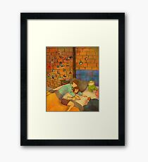 Arm pillow Framed Print
