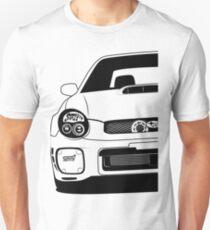 Camiseta ajustada Subaru Impreza Bugeye GD Best Shirt Design
