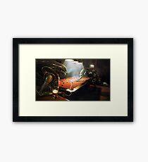 avp pool Framed Print
