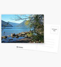 """Lake Crescent"" Postcards"