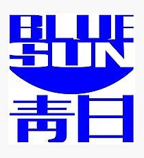 Firefly: Blue Sun Corporate Logo Photographic Print