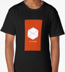 Titan cool logo MMO Gamers Long T-Shirt
