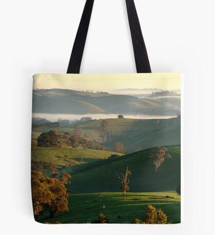 Rolling Hills, Dollar Gippsland Tote Bag
