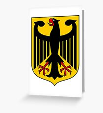 Coat of arms of Germany Greeting Card