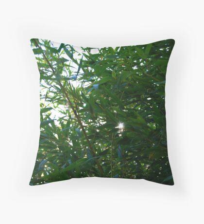 Bamboo Sun Throw Pillow