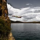 Cliff Diver by Josh Dayton