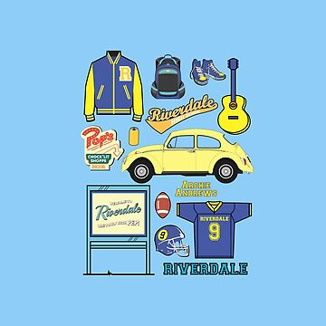 Archie icon set (Riverdale) by nazeli