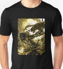 alien vs predator vs marine T-Shirt