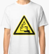 Old School Gadgets Warning Sign Classic T-Shirt