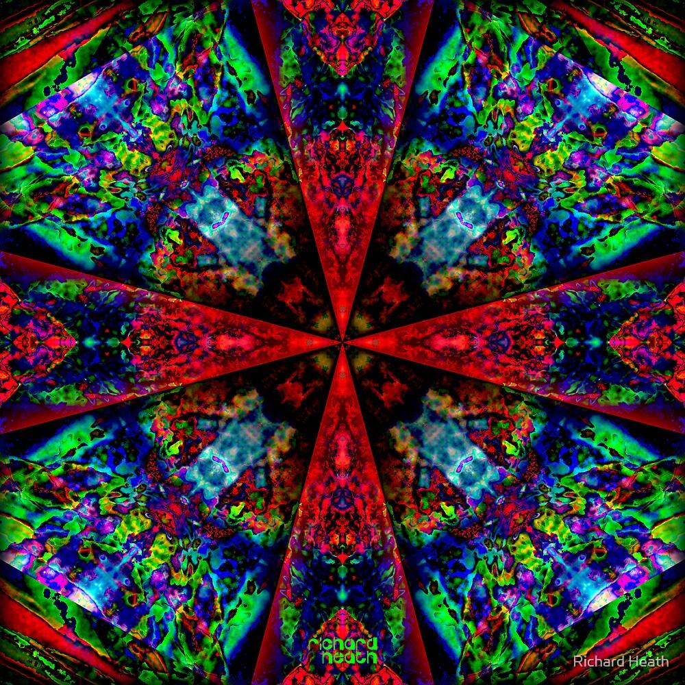 Opal Cross by Richard Heath
