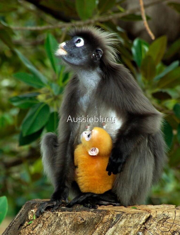 Mum and Baby 2 by Aussiebluey