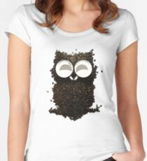 Espresso Self Women's Fitted Scoop T-Shirt