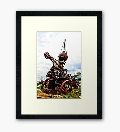 Working Point - Baltimore Framed Print
