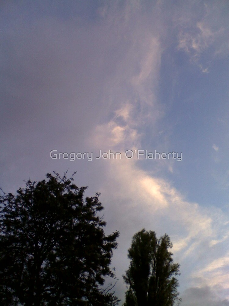 More Faces in Clouds by Gregory John O'Flaherty