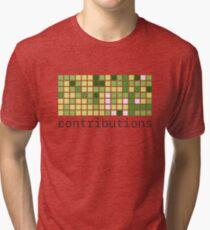 Github Contributions Tri-blend T-Shirt