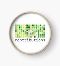 Github Contributions Clock