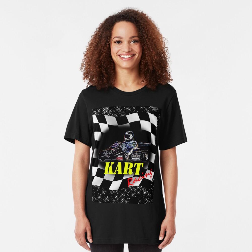 Kart Racer Slim Fit T-Shirt