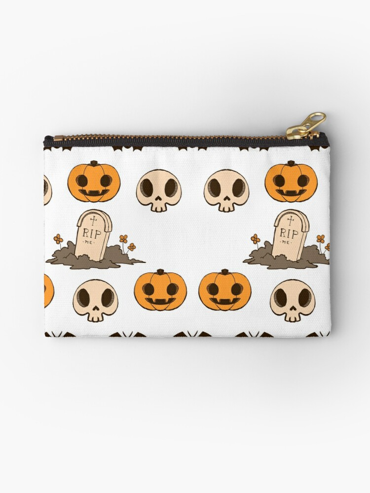 Halloween Stickers Aesthetic.Halloween Aesthetic A Studio Pouch By Mshollowfox