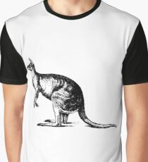 Vintage Kangaroo  Graphic T-Shirt