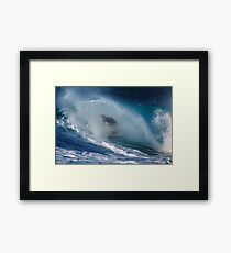 The Art Of Surfing In Hawaii 23 Framed Print