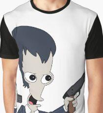Roger Guns Graphic T-Shirt