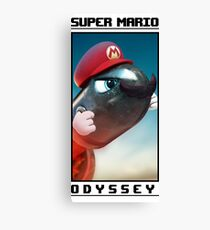Super Mario Odyssey (Bullet Bill Design) Canvas Print