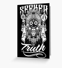 Seeker Of The Truth Greeting Card