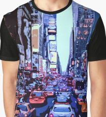 Through the streets of New York City Graphic T-Shirt