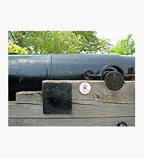 Greenwich Cannon Photographic Print