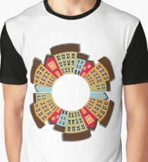 City Abstract Skyview Graphic T-Shirt