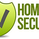 Home Secure Sticker by Tony Herman