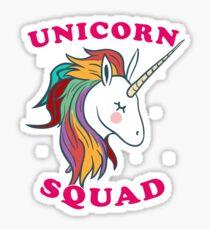 Cute Unicorn squad Sticker