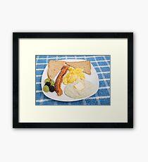 Country Breakfast Framed Print