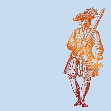 Jack Rackham Pirate's Life by pirateslife