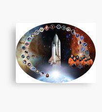 Shuttle Columbia (OV-102) Tribute Canvas Print