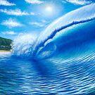 Pipeline, Hawaii  The Dream Tour Series by Clark Takashima